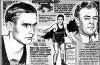 1939 Athens High School Basketball Flyer