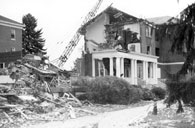 Destruction of McComas Hall