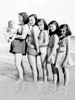 Vacation in Florida. Garland Jr. (in arms), Helen, and daughters Mary, Nancy, Thelma, and Martha.