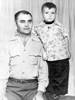 Garland Sr. and Garland Jr. circa 1950.
