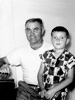 Garland Sr. and Garland Jr. circa 1952                 .