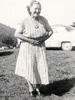 Helen's mother Mary Elizabeth (Molly) Sutherland shown here at Shawnee Lake.