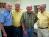 Garland Elmore, Fred Wiley, Larry Brunk and Henry Friedl