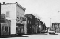 Store Fronts of the Town of Athens West Virginia