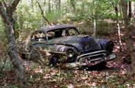 Long-Abandoned 1950 Oldsmobile 88 Near Athens