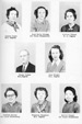 Elementary teachers Louise Lipps, Mary Kelly Strong, Kathryn Gibson, Frank Parker, Joan Wright, Cathlee Keaton, Virginia Sizemore, and Billy Tanner.
