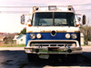 This truck was an emergency vehicle of some kind. Dating these trucks is difficult since the same body was used (with minimal trim variation) from 1957 to 1990.